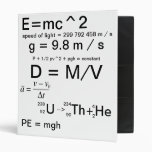 The Binder of Equations