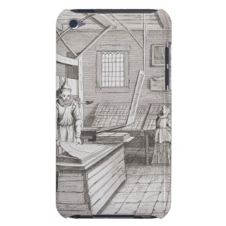 The bindery of Laurens Janszoon Koster, engraved b iPod Touch Case-Mate Case