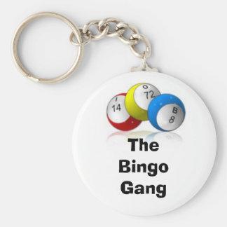 The Bingo Gang Keychains