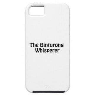 the binturong whisperer iPhone SE/5/5s case