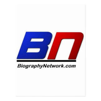 The Biogrpahy Network Postcard