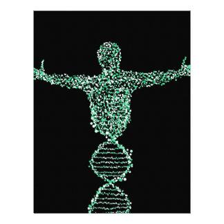 The Biology DNA man Letterhead
