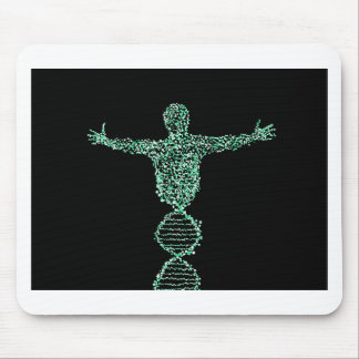 The Biology DNA man Mouse Pad