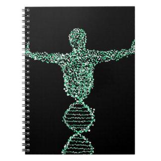 The Biology DNA man Notebook