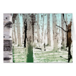 The Birch Forest Card