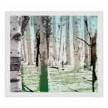 The Birch Forest Posters