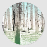 The Birch Forest Stickers