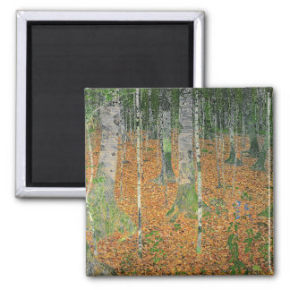 The Birch Wood, 1903 2 Inch Square Magnet