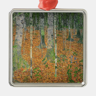 The Birch Wood, 1903 Metal Ornament