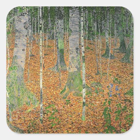 The Birch Wood, 1903 Square Sticker