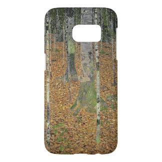 The Birch Wood by Gustav Klimt Samsung Galaxy S7 Case