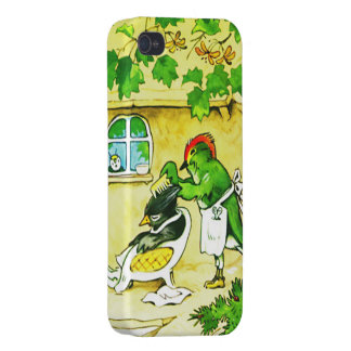 The Bird Barber iPhone 4/4S Cover