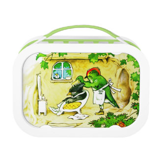 The Bird Barber Lunch Box