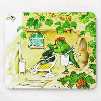 The Bird Barber Mouse Pad