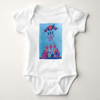 The Bird Family Baby Bodysuit