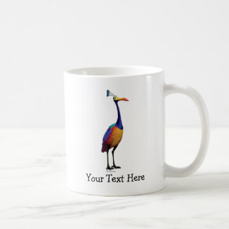 The Bird from the Disney Pixar UP Movie (Kevin) Classic White Coffee Mug