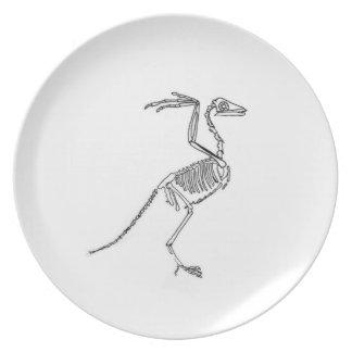 the bird melamine plate