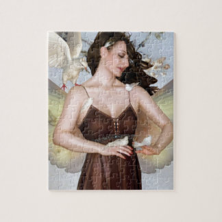 The Bird Whisperer - Self Portrait Jigsaw Puzzle