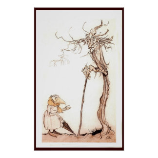 The Bird Woman and The Tree - Poster