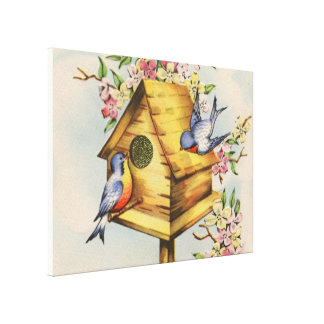 The Birdhouse Canvas Print
