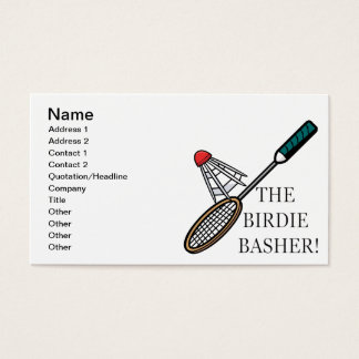 The Birdie Basher Business Card
