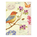 The Birds and the Bees Postcard