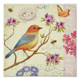 The Birds and the Bees Print