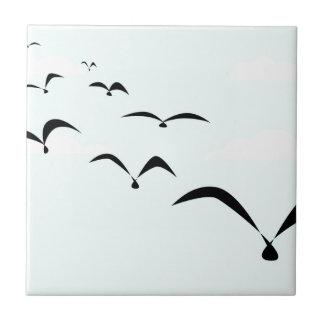 The Birds Ceramic Tile