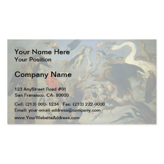 The Bird's Concert  by Frans Snyders Business Card Template