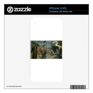 The Bird's Concert by Frans Snyders Decals For iPhone 4