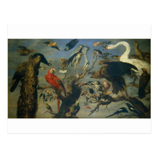 The Bird's Concert by Frans Snyders Postcard