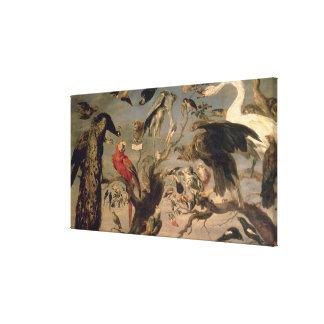 The Bird's Concert Canvas Print