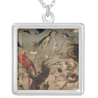 The Bird's Concert Silver Plated Necklace