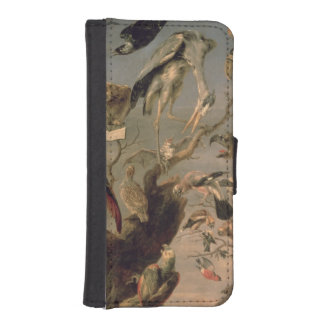 The Bird's Concert Wallet Phone Case For iPhone SE/5/5s