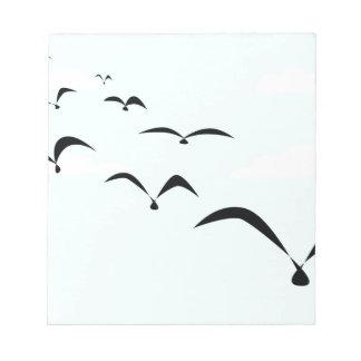 The Birds Notepad
