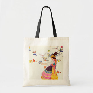 The Birds of All the Worlds Tote Bag
