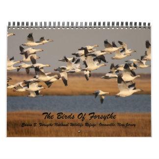 The Birds of Forsythe Calendar
