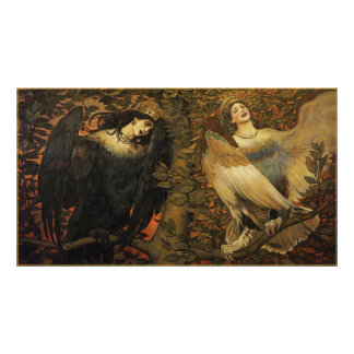 The Birds of Joy and Sorrow Poster Print