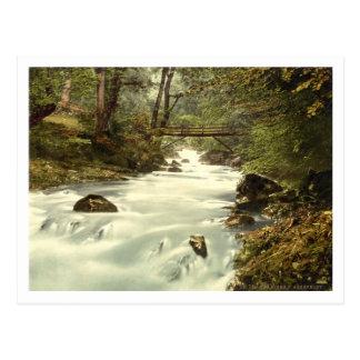 The Birks o'Aberfeldy, Perth and Kinross, Scotland Postcard