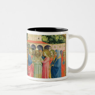 The Birth and Marriage of the Virgin Two-Tone Coffee Mug