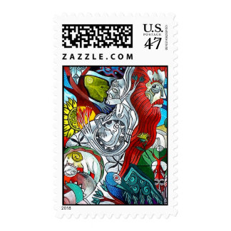 The Birth by Gregory Gallo Postage