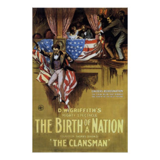 The Birth Of A Nation 1915 Poster