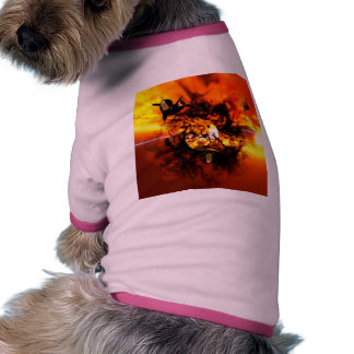 The birth of a planet dog shirt