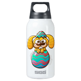 The Birth of an Easter Bunny Insulated Water Bottle