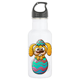 The Birth of an Easter Bunny Stainless Steel Water Bottle
