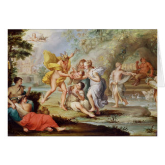 The Birth of Bacchus Card