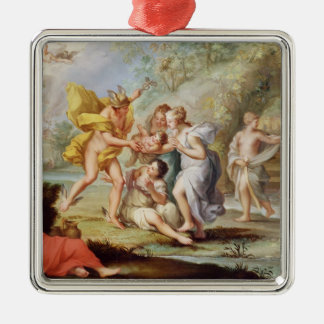 The Birth of Bacchus Metal Ornament
