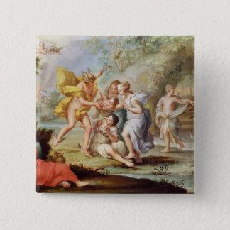 The Birth of Bacchus Pinback Button
