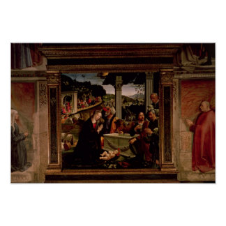 The Birth of Christ Poster