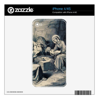 The birth of Christ Skins For The iPhone 4S